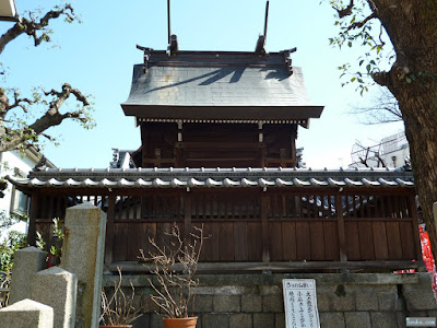 野江水神社本殿