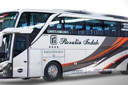 Harga Tiket Bus Rosalia Indah Terbaru April 2019