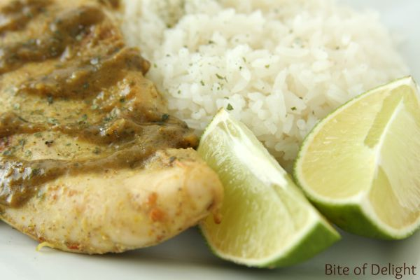 Coconut Lime Chicken | Coconut Rice | Easy Recipe