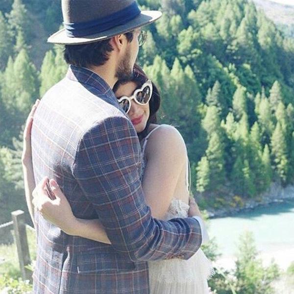 Erwan Heusaff-Anne Curtis Wedding