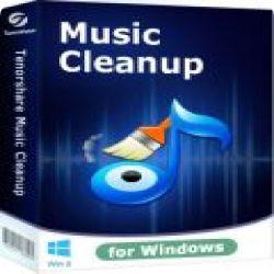 تحميل Tenorshare iTunes Music Cleanup 1.1.0 مجانا لإصلاح الملفات في اجهزة iTunes مع كود التفعيل