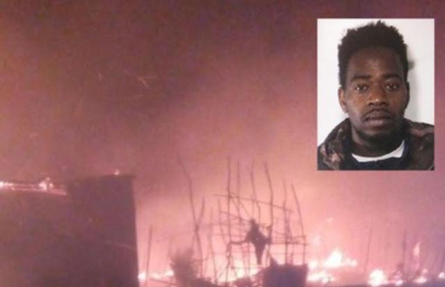 """مقتل مهاجر في حريق هائل باشهر مدينة مهاجرين صفيحيه بإيطاليا، وسالفيني يقول: سنزيلها، يكفي تردي، وانعدام القانون""""."""