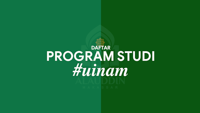 Program Studi UIN Alauddin Makassar