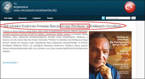 George Friedman - Stratfor - CIA - İbrahim Kalın