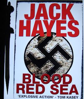 Portada del libro Blood Red Sea, de Jack Hayes