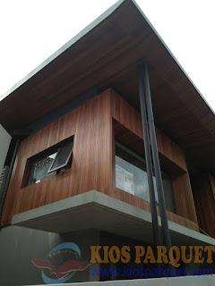 Penyedia plafon kayu lambersering di Bondang