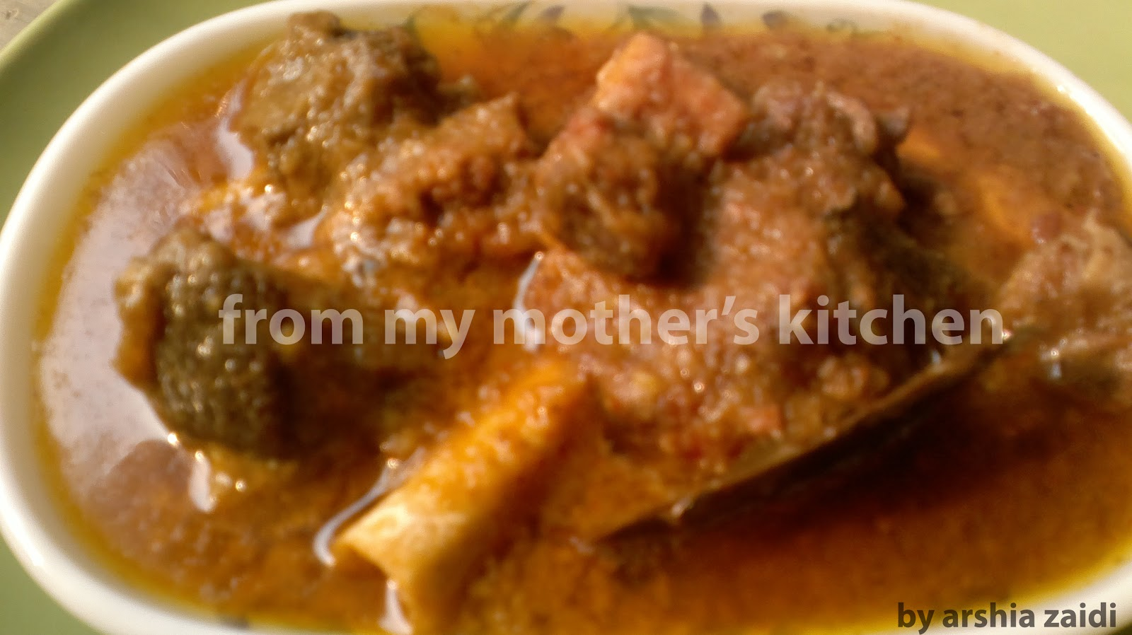From my mothers kitchen non vegetarian dishes muslim korma meat qorma korma meat recipe indian spices best non forumfinder Gallery