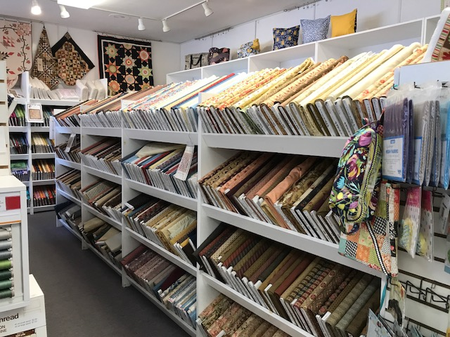Stitching the Night Away in Illinois: A Visit to the Fabric Shack : fabric shack quilt shop - Adamdwight.com