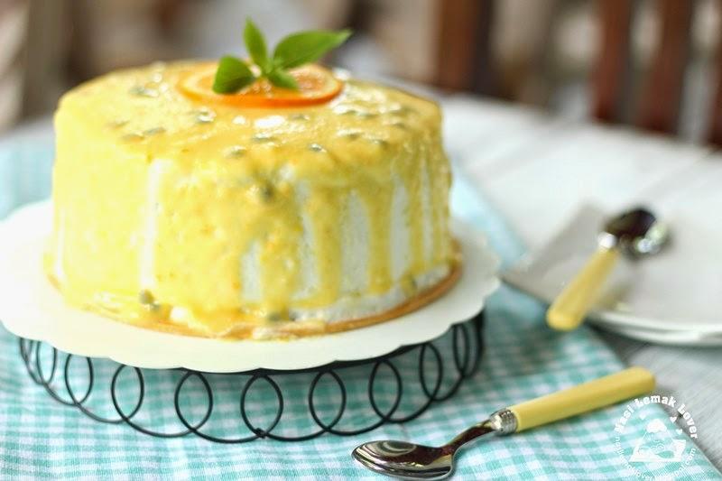 Passion Fruit Birthday Cake