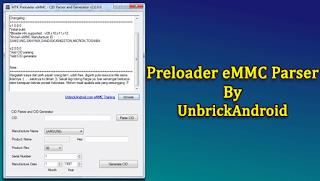 MTK Preloader eMMC Parser v2.0