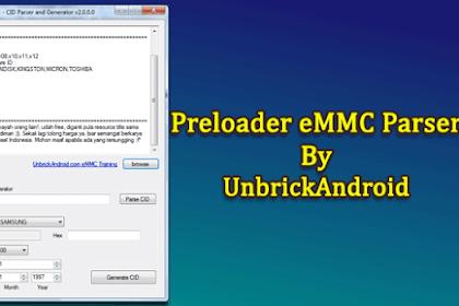 Download MTK Preloader eMMC Parser v2.0