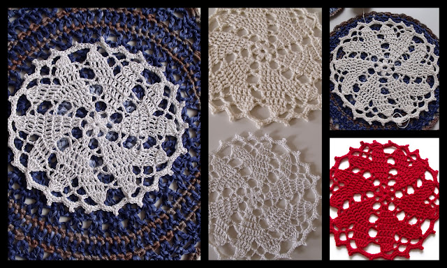 free crochet patterns, hearts, mandalas, how to crochet, doilies,