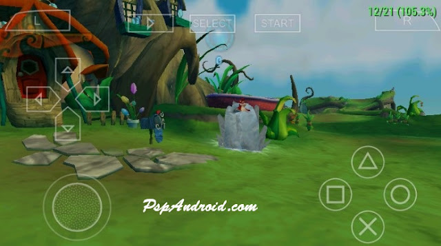 Crash Of The Titans PSP Android