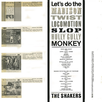 The Shakers aka King Size Taylor & The Dominoes