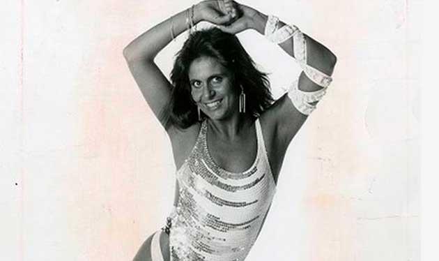 Gretchen jovem nos anos 80