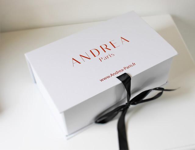 Andrea Paris fabrication française bougie de luxe