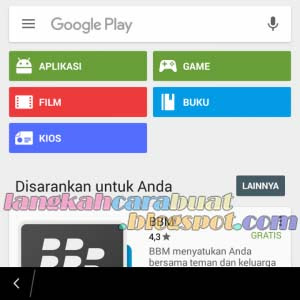 cara instal play store di bb os 10