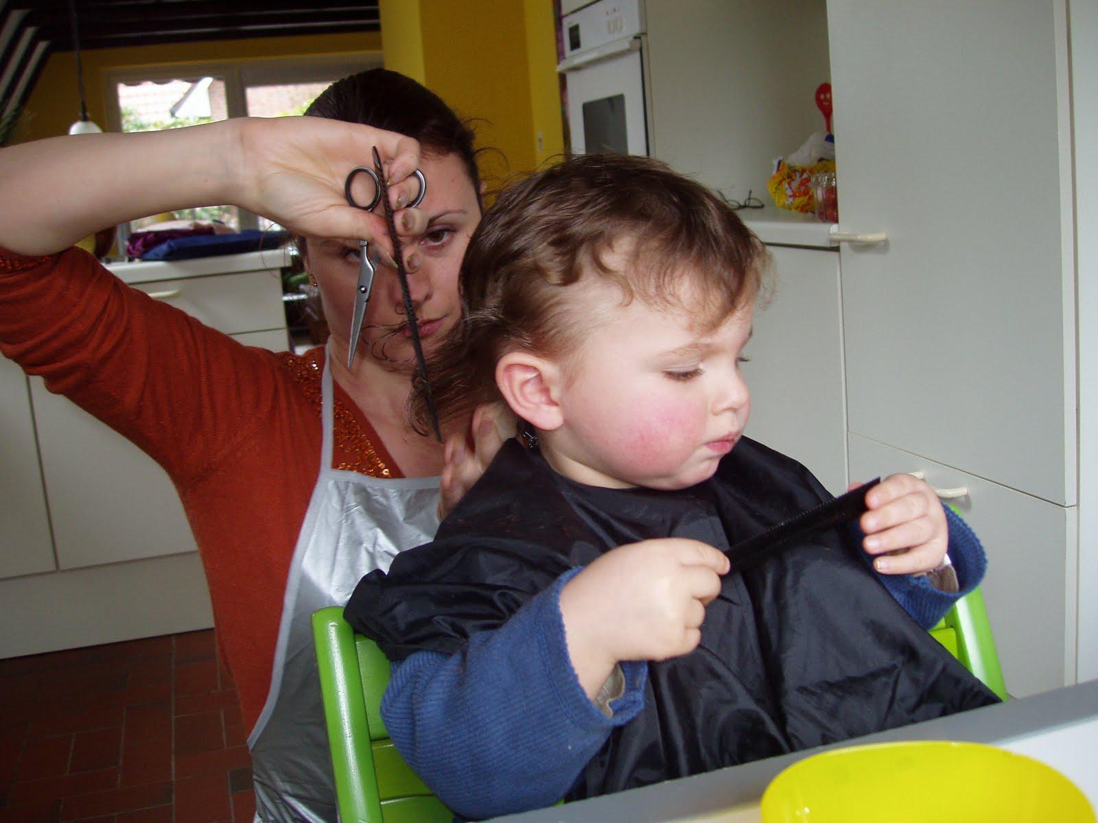 Primer corte de pelo del bebe