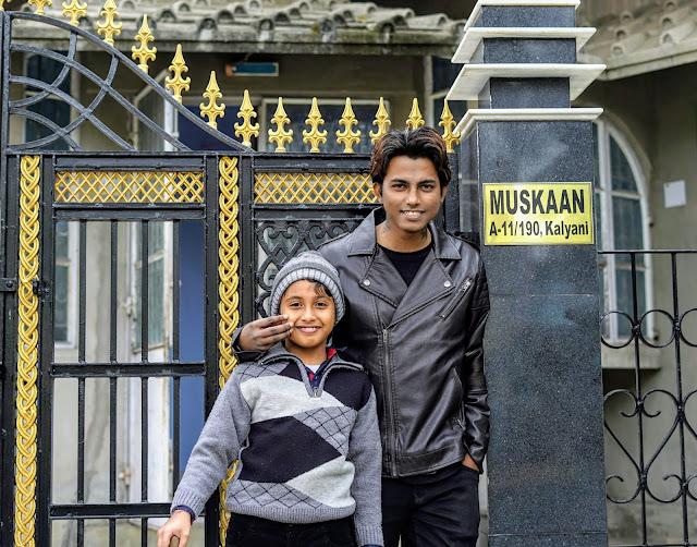 Sourajit Saha And His Nephew Rick