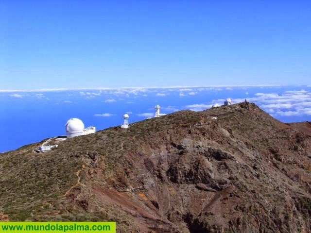 Aguiar defenderá una iniciativa de apoyo a la industria del espacio en el Roque de los Muchachos