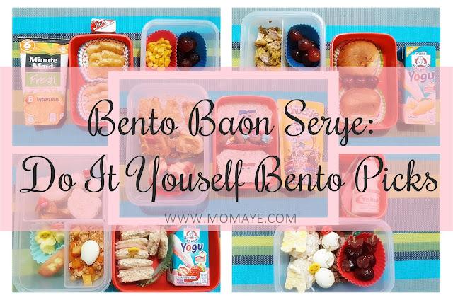 bento, bento baon, bento baon serye, bento lover, bento mom, school baon, weekly bento baon, DIY, diy bento picks, bento picks, bento accessories,