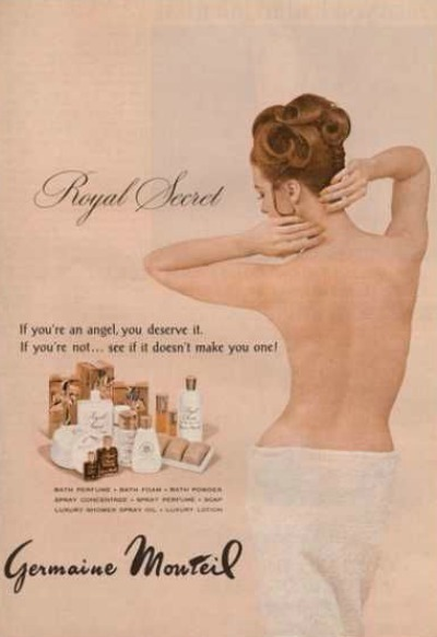 Germaine Monteil Royal Secret 1960 Ad