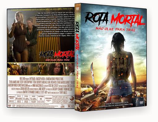 Rota Mortal Nao Olhe Para Tras Dublado – ISO – CAPA DVD