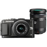 OLYMPUS E PL5 DOUBLE KIT BLACK