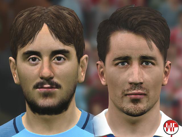 [PES2017] Aleix Garcia & Bojan Krkic (+CR7 Updated) face by WER Facemaker