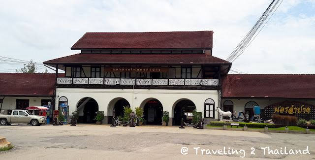 Lampang Train Station in North Thailand