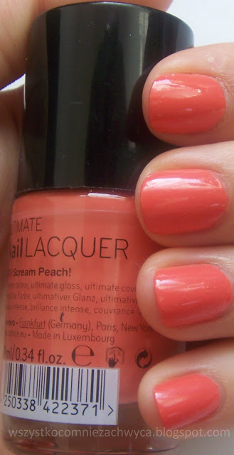 Catrice, ULTIMATE Nail LACQUER, 170 I Scream Peach