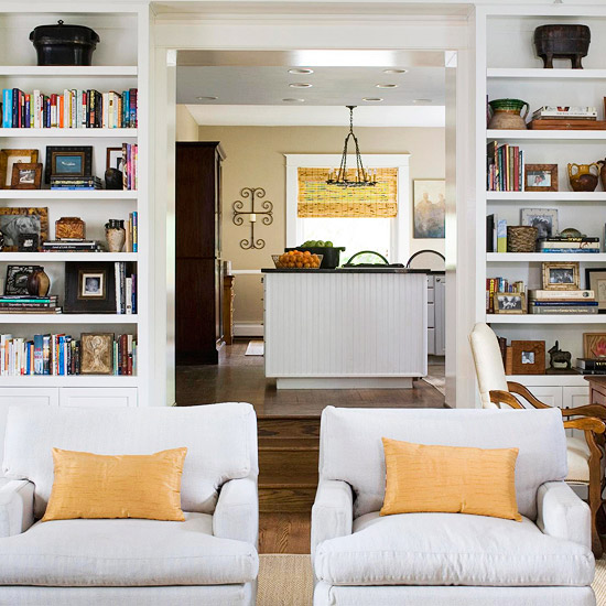 Celebrity Homes Interior: Clever Ways To Store Books