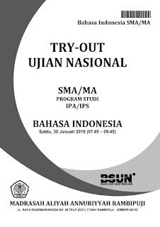 Latihan Soal Ujian Nasional 2016 SMA/MA