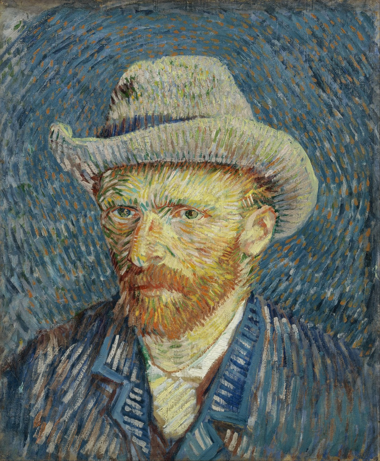 family-friendly Amsterdam - a portrait of Vincent Van Gogh