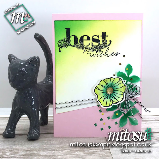 Stampin' Up! Oh So Eclectic + Happy Wishes for #PCC275 from Mitosu Crafts UK Online Shop