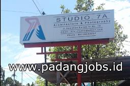 Lowongan Kerja Padang: CV. Studio 7 A Juni 2018