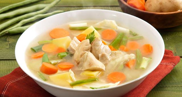 menu buka puasa sup sayuran