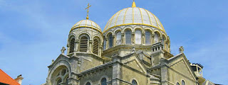 Orthodox church in Biarritz