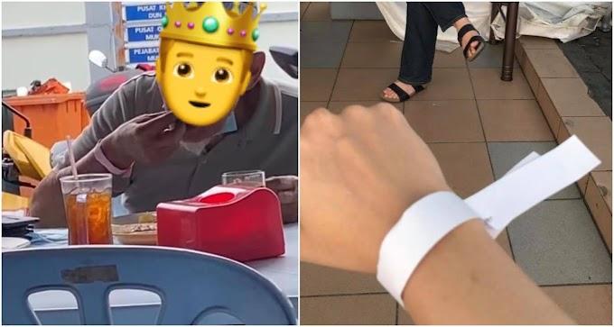 Warga emas dikecam netizen angkara gelang pink, rupa-rupanya…