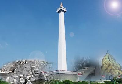 Monas, Monumen Nasional, Objek Wisata, Jakarta, landmark jakarta