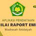 Aplikasi Pendataan Nilai Raport Emis Madrasah Ibtidaiyah Terbaru