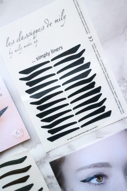 Mily Makeup Sticker Eyeliners
