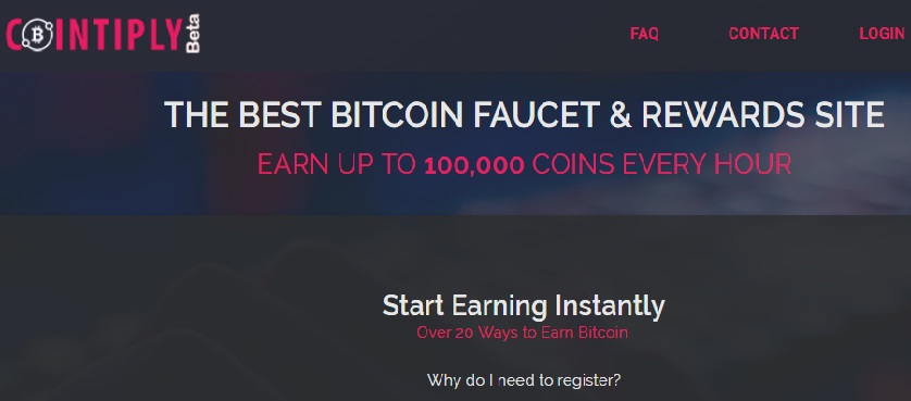 Site Cointiply to earn a lot of coin Bitcoin