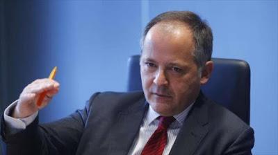 El miembro del consejo ejecutivo del BCE, Benoit Coeure.