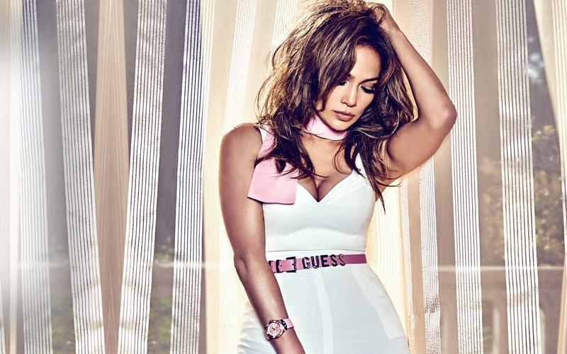 Jennifer Lopez Guess Kampanyasında
