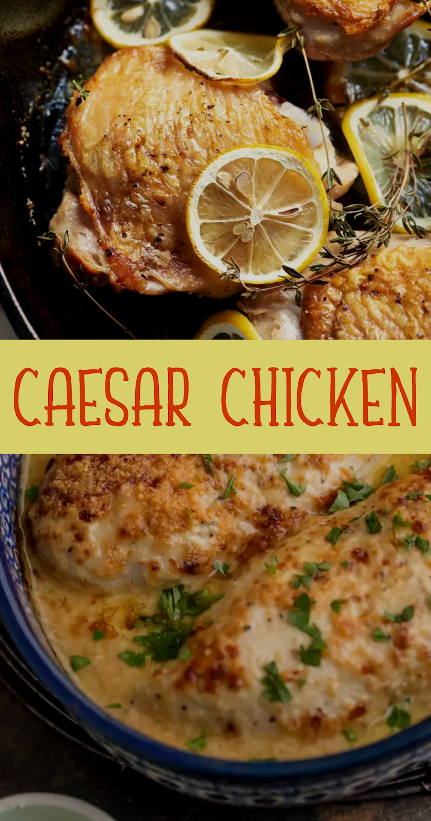 Caesar Chicken Show You Recipes