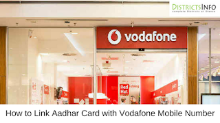 How to Link Aadhar Card with Vodafone Mobile Number