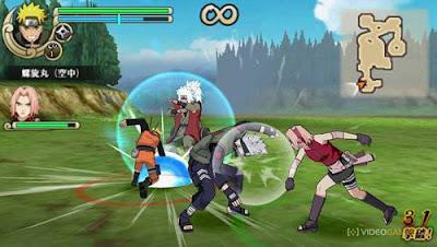 Game PPSSPP Terbaik Naruto Shippuden