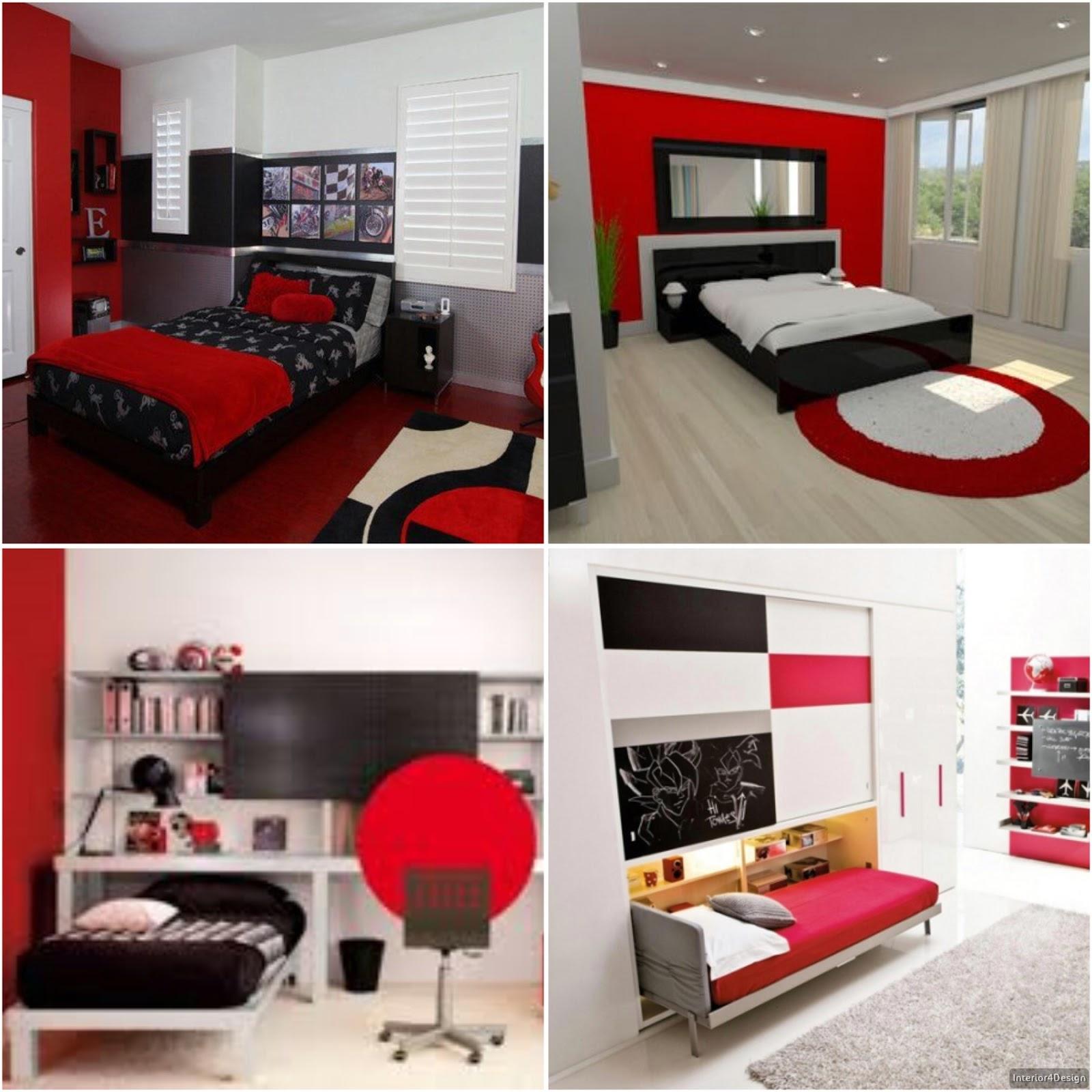 Elegant Kids Bedrooms - Design In Red And Black | Best ...
