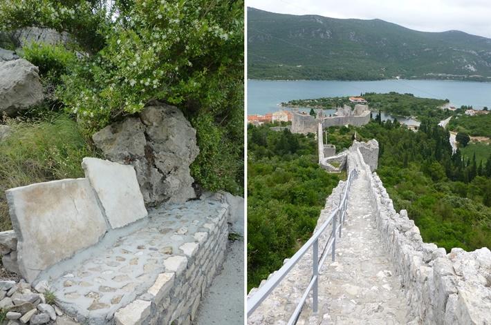 Steinmauern kroatien